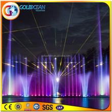 Led Lighted Water Musical Fountain