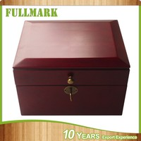 Wood jewelry box with high glossy painting