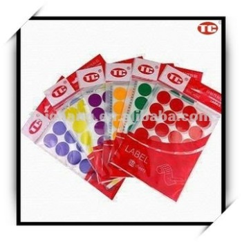 Self-Adhesive Dot Label Assorted color