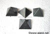 Wholesale Pyramids : Hematite 23-28mm pyramids : Metaphysical Products