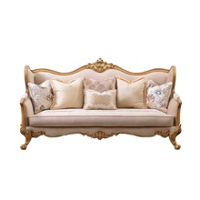 European style 3 Seater sofa Classic luxury Lounge Couch Living Room Home <strong>Furniture</strong>