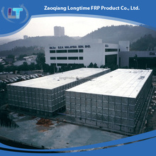 Quality products factory price hot dipped galvanized steel pressure storage water tank