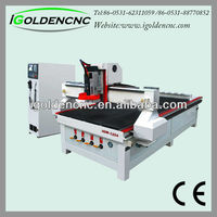 2013 hot sale high-end automatic wood lathe use for engraving and cutting wood,pvc