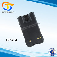 TOPRADIO BP-264 Ham Interphone Battery BP264 Compatible with ICOM IC-F3001 IC-F4001 IC-F3101D IC-F4101D IC-F3002 IC-F4002