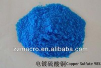 Factory quote directly bulk price copper sulphate per kg for sales