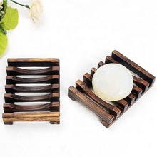 Wood Soap Dish Tray Wooden Soap Saver Holder for Bath Shower <strong>Plate</strong> Bathroom