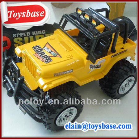 Yellow rc jeep toys