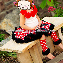 Mickey Fluffy Baby Girls Tutu Skirt Pettiskirt Dress Red With White Polka Dots Satin Girls Pettiskirts For Children