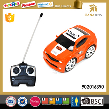 4 Functions Mini Taxi Toys Rc Car for Kids