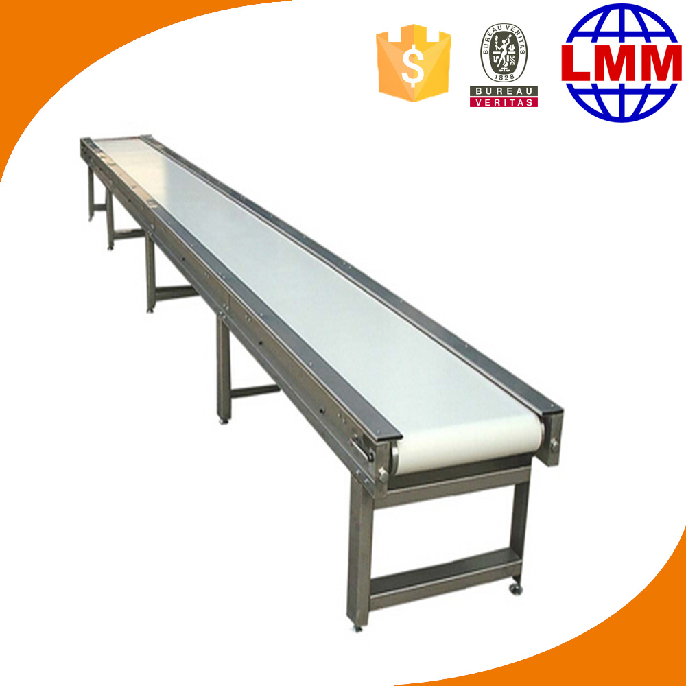 chain link conveyor belt belt conveyor systems ATL Motor (Made in TaiWan) with hyper tape or Customized