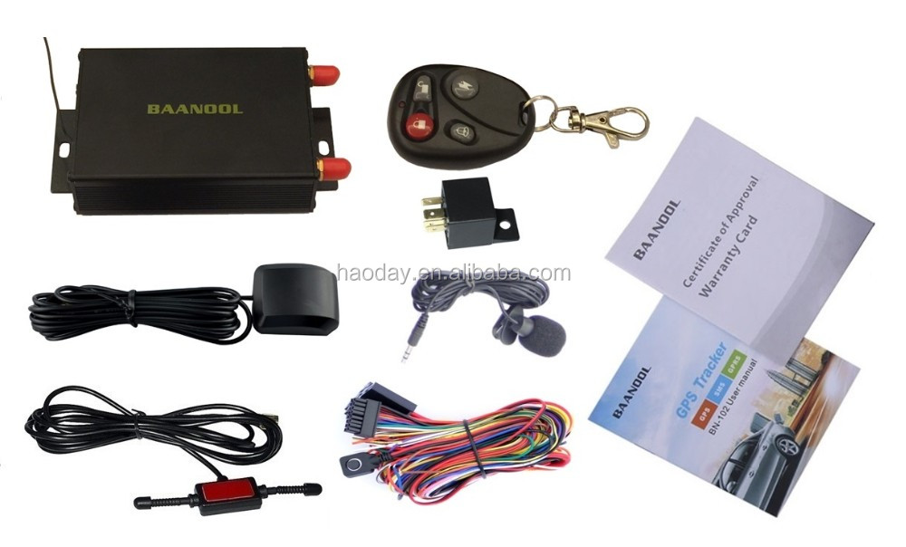 BN-105BGPS tracking camera automatic fuel alarm support speed limiting function remote control <strong>device</strong>