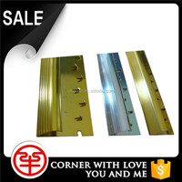 Low MOQ Extruded Aluminum Carpet Edge Corner Guard Trim