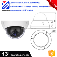 IK10 outdoor security camera mini ip high speed dome camera specification