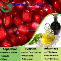 GMP factory pomegranate essential seed oil/pomegranate seed oil extraction