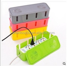 New colorful eletric wire cable storage box