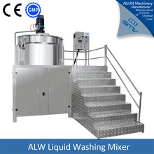 complete soap dishwashing liquid mixer making machine