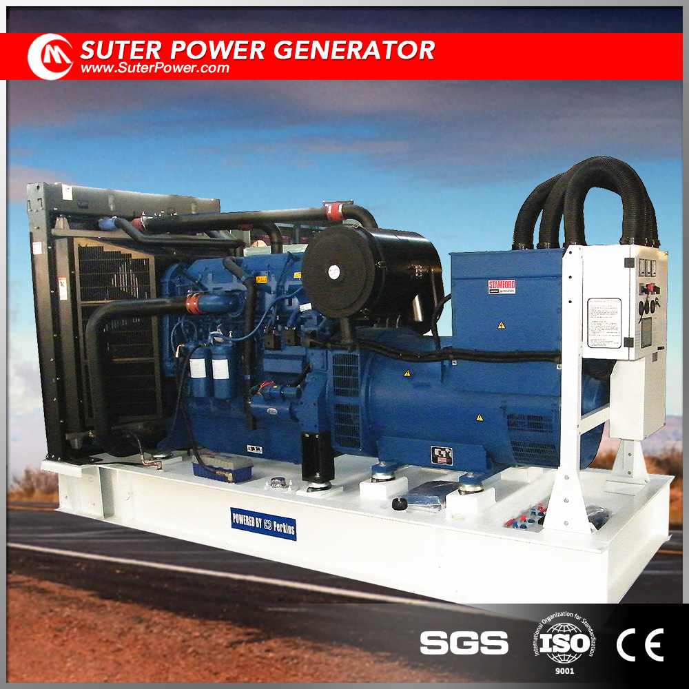 Open type 400kva diesel generator made by UK manufacturer