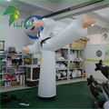 Advertising Sport Display Inflatable Air Taekwondo Model PVC Balloon
