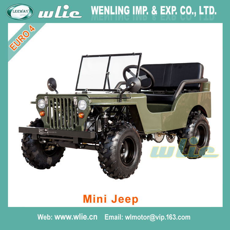 Top quality zhejiang mini jeep willys kawasaki atv 110cc Mini Jeep (50cc-150cc)