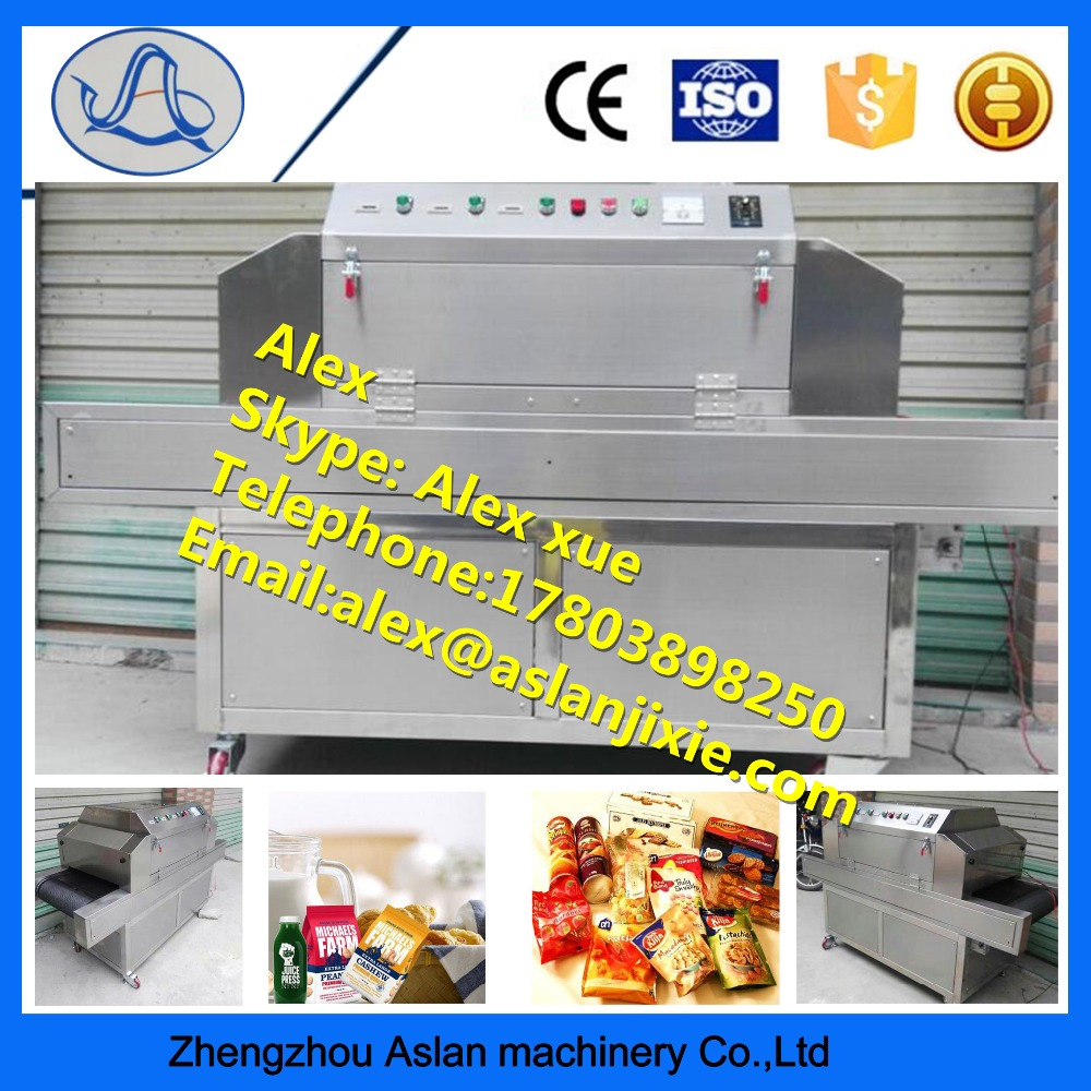 Automatic Hot Sell UV Sterilizer / Sterilizing Mahcine For Food