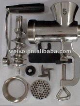 Stainless Steel Meat Mincer Attachment, Meat Grinder Spare Parts