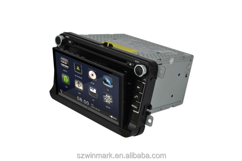 Patent 2 din car audio CAR DVD PLAYER DM7836C for VW-Magotan with 3G,WIFI,Android 4.0 OS,removable tablet PC/can-bus/dvd