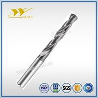 5D Internal Coolant Tungsten Solid Drilling Bits Carbide for Steel Machining