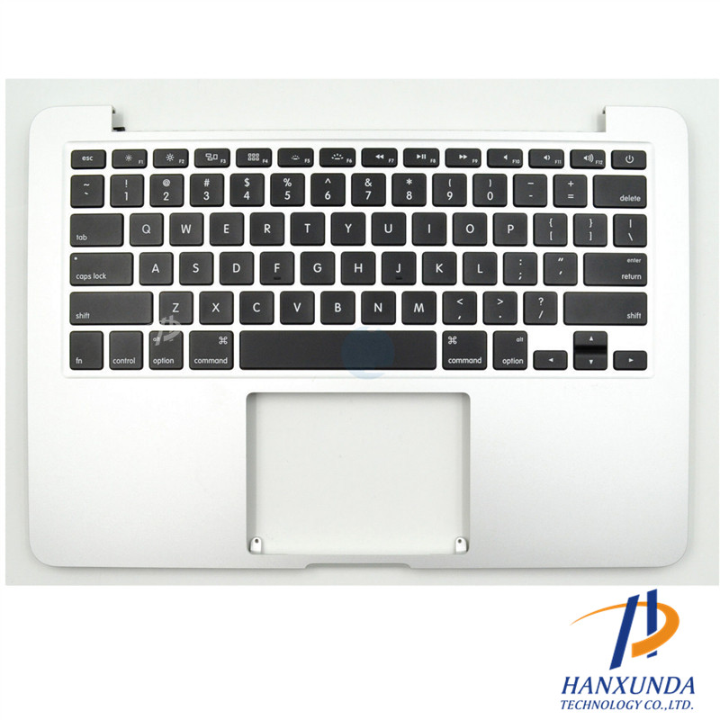 "661-02361 100% New original Early 2015 US keyboard with palmrest for rMBP Pro Rrtina 13"" A1502 top case"