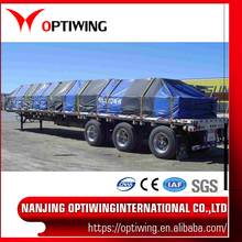 PVC Trailer Tarp/Train Cover Tarpaulin/Cargo Goods Tarpaulin Cover