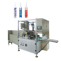 fully automatic cartridge filling and closing machine designed for high viscosity material