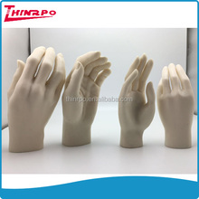 Custom rubber hands model soft silicone women hands model