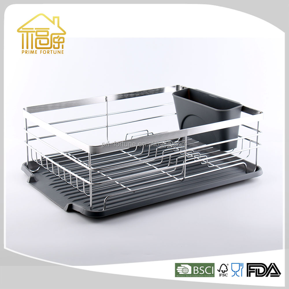 Stainless steel hot sale metal wire dish rack dish drying rack wall mounted dish rack