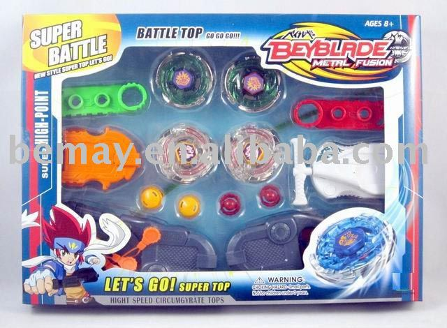 2011NEW STYLE Beyblade Battle Top Set,SPINNING TOPS, Shipping 50% off. 7 versions suitable as gift for children.Item #202933