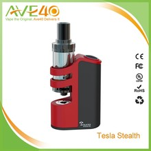 New e cigarette Built In LiPo Battery 2200mAh Tesla Stealth Mod 100W/ Teslacigs VS Tesla Nano 60w