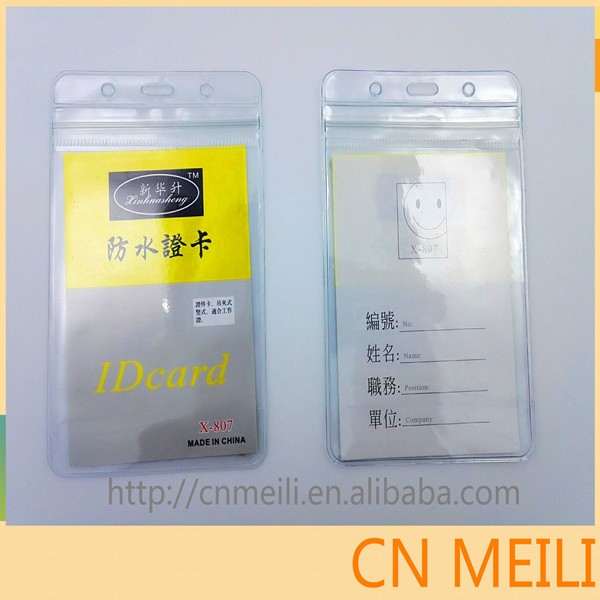 Manufacturer for ID name card badge holder card bag case