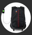 OEM Fashion Sport Backpack With Laptop Compartment USB Charger, Custom Travel Casual Backpack School Bag Manufacturer