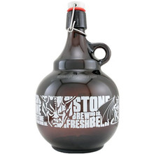 Swing Top 2 Liter ceramic beer growler for sale