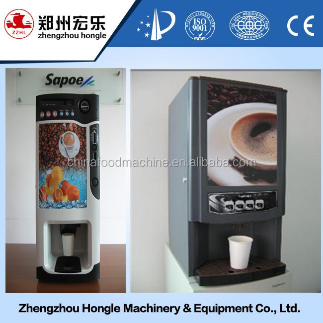 9 models new style Automatic coin coffee machine/ HOT SALE