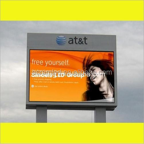 sports commercial advertising led display 10mm full color outdoor led display