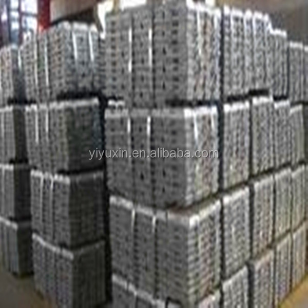 Zinc ingot hot selling with competitive price Ingot 99.98% ,99.97%,99.95%