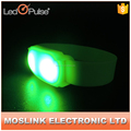 Motion activated LED flashlight wristband LED light up ABS bracelet party promotion gift