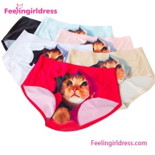 Fashion Cat Themed Comfortable Latest Panty Designs Women