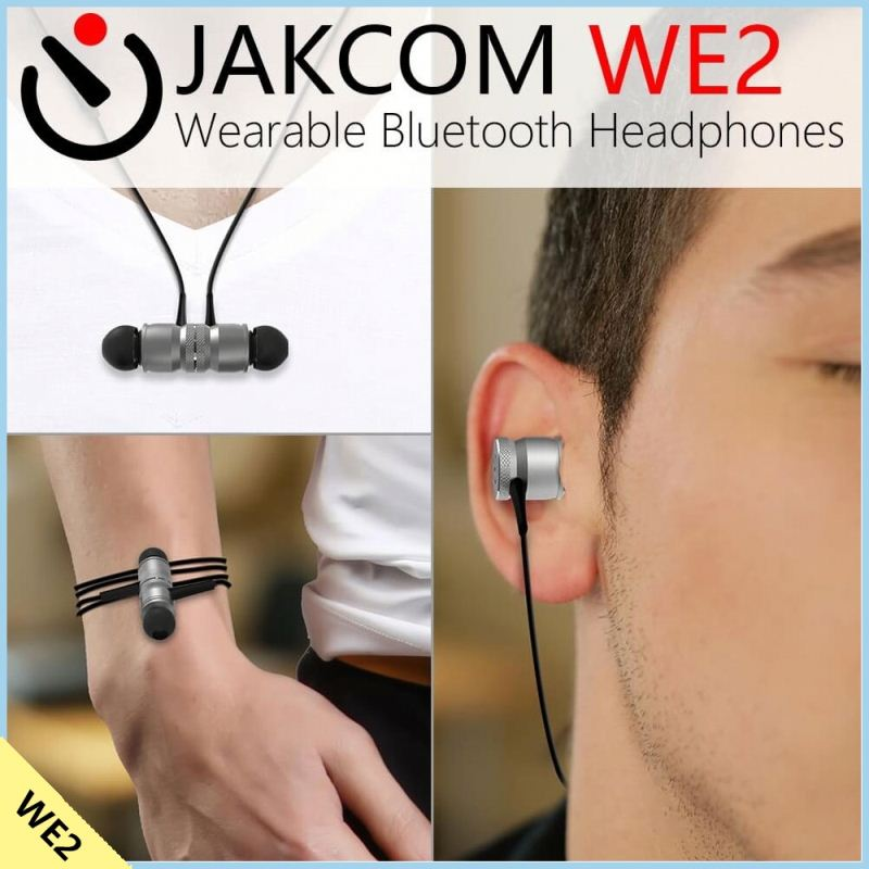 Jakcom WE2 Wearable Bluetooth Headphones 2017 New Product Of Bluetooth Car Kit As Grundig Car Radio Player Receiver Media Star