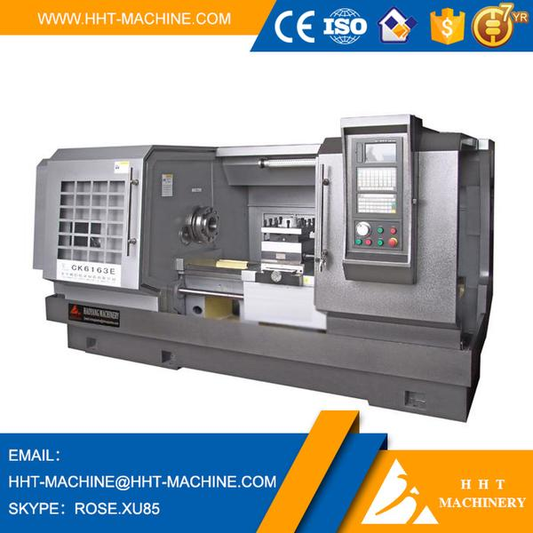 China Factory cnc engine lathe price CK6163E for making car wheels