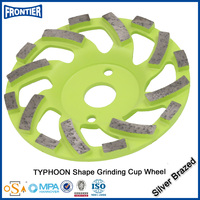 Cost price top quality diamond segmented concrete grinding wheel