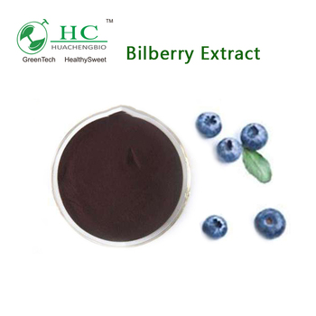 GMP Supplier Anthocyanidins Powder European Bilberry Extract, Chinese Bilberry Extract