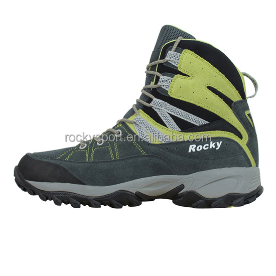 Hill Climbing Safety Shoes Outdoor Trekking Shoes Man HT-90295B
