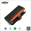Geniune Crazy horse leather wallet case with two card slots mobile phone case for Iphone6