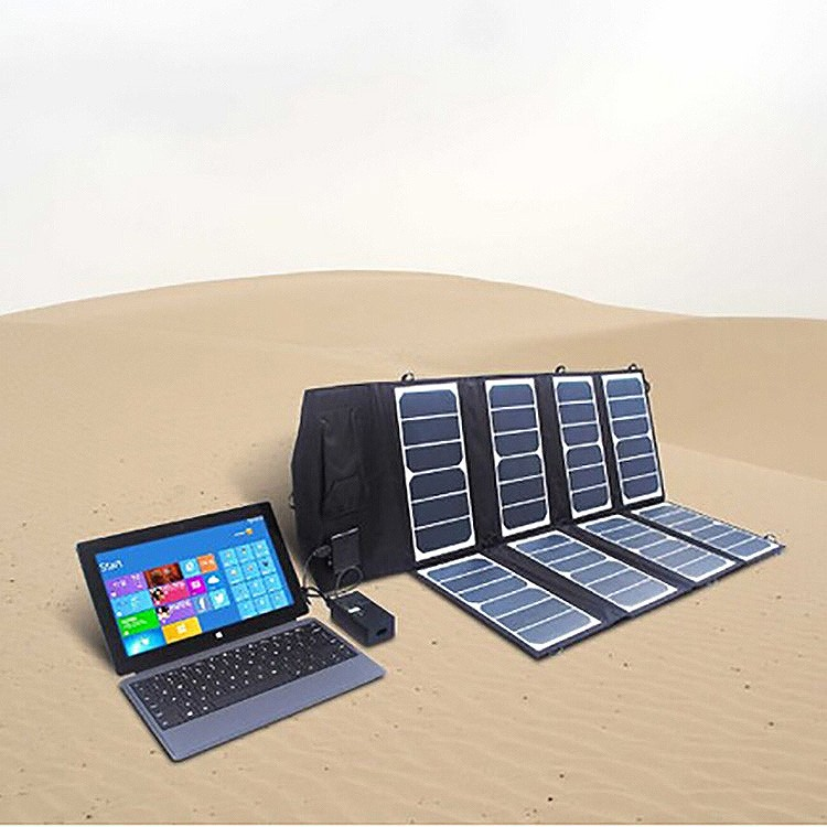 52W 12V caravan outdoor solar panels Folding Solar Panel Charger Portable Solar Battery Charger
