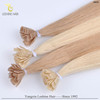 Imported Italian glue strong and soft 100% Virgin Natural Cuticle flat tip hair extension